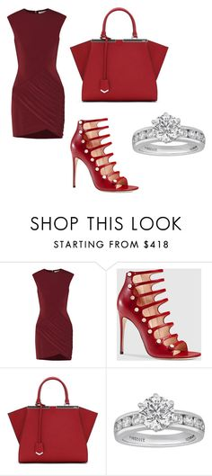 """Без названия #516"" by sophiemartiash ❤ liked on Polyvore featuring Elizabeth and James, Gucci, Fendi and Tiffany & Co."