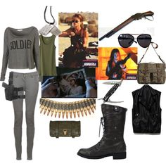 """""""Sarah Connor"""" by muffinsangria on Polyvore"""