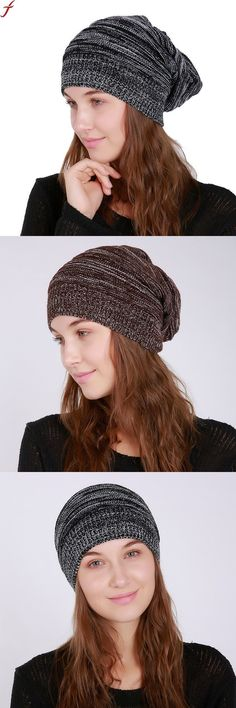f33b87f5beb 2018 women's winter hats cap men women warm knitted skullies beanie hat new  high quality female