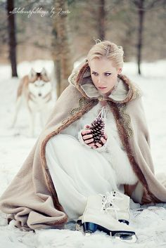 Vintage Winter Wedding by loretoidas, via Flickr