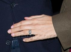 Engagement ring of Claire Lademacher fiance of Prince Felix of Luxembourg