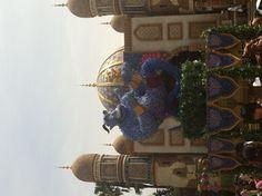 Genie made from hydrangea @Tokyo Disney Sea♡
