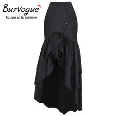 Burvogue New Women Fashion Long Skirt Steampunk Gothic Skirts Sexy Slim Fishtail Long Corset Skirt Maxi Mermaid Skirts |  Cheap Product is Available. This shopping online sellers provide the information of finest and low cost which integrated super save shipping for Burvogue New Women Fashion Long Skirt Steampunk Gothic Skirts Sexy Slim Fishtail Long Corset Skirt Maxi Mermaid Skirts or any product.  I hope you are very lucky To be Get Burvogue New Women Fashion Long Skirt Steampunk Gothic…