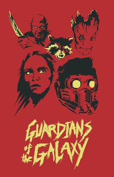 The Guardians Of The Galaxy http://society6.com/perrym/guardians-zt8#1=45