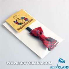 Clan Grant Modern Tartan Childs Bow Tie in Wool