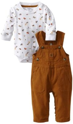 Carhartt Baby-boys Infant Bib Adjustable Strap « Impulse Clothes....always loved those lil overalls when I worked at Pro Turf. Now I can get them! : )