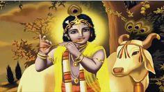 Bhagavad Gita - Chapter 2 - Verse 2 (part Mahabharat,Hindu Religion. Cow Wallpaper, Krishna Wallpaper, Blue Balloons, Bhagavad Gita, Hare Krishna, Religion, Princess Zelda, Artist, Artwork