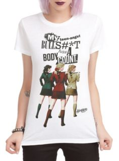 Heathers: The Musical Body Count Girls T-Shirt
