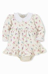 Ralph Lauren Velour Dress & Bloomers (Baby Girls)