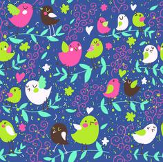 CARTOON BIRDS   #wallpaper , #children