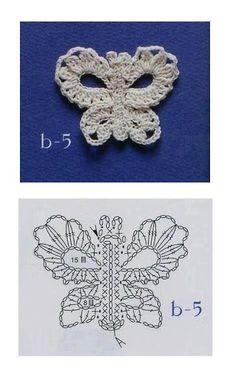 Solo esquemas y diseños de crochet: miniaturas