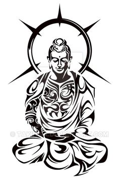 Music tattoo designs from clef can have outlines and also curves to contribute at the fascination of a lot of tattoo design about music tats. Buddha Tattoos, Buddha Tattoo Design, Wolf Tattoos, Body Art Tattoos, Tribal Tattoos, Polynesian Tattoos, Geometric Tattoos, Hand Tattoos, Filipino Tattoos