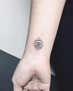 Resultado de imagem para evil eye tattoo