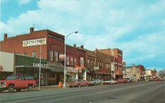 Postcard-Michigan-Oxford-Business-District