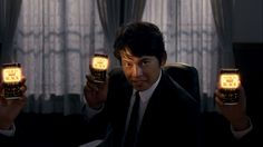 WONDA GOLD BLACK CM / Oda Yuji 織田裕二