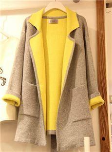 Popular Style Plus Size Ladies' Slim Coat: dressyours.com