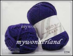 Wholesale Alpaca New Zealand Wool Classical Hand Knitting Yarn 08 Series 1236, Free shipping, $3.49-3.89/Piece | DHgate