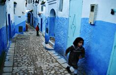 """Chefchaouen, Morocco """" The White and Blue City"""" Morocco Tourism, Morocco Travel, Africa Travel, Marrakesh, Places Around The World, People Around The World, Casablanca, Islamic City, Morocco Chefchaouen"""