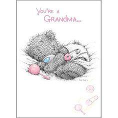 You Are a Grandma Me to You Bear Card