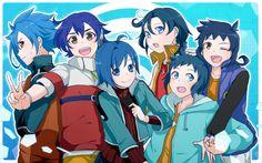 Cross-over - Cross Fight B-Daman, Gundam Build Fighters, Future Card Buddyfight, Danball Senki, Cardfight! Gundam Build Fighters, Cardfight Vanguard, Image Boards, Mystery, Pokemon, Kawaii, Fan Art, Cute, Pictures