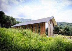 Shed-like visitor centre in South Korea by Namu Architects