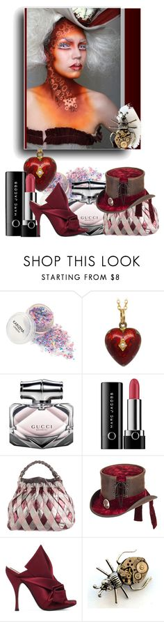 """""""I do not know, just love it... #3."""" by babysnail ❤ liked on Polyvore featuring Gucci, Marc Jacobs, Miu Miu, Overland Sheepskin Co., N°21, marcjacobs, gucci, victorian, miumiu and steampunk"""