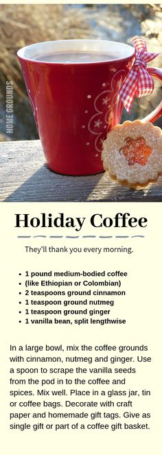 44 of the Best Gifts for Coffee Lovers Update) They will think of you every morning. Delicious holiday blend for a homemade Christmas gift Coffee Cards, Coffee Lover Gifts, Coffee Lovers, Coffee Set, Best Coffee, Coffee Ideas, Coffee Time, Coffee Mugs, Coffee Subscription