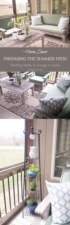 This blogger includes 5 quick tips on how to turn an outdoor living space into a comfy and inviting place (similar to inside your home) using a few key products from @biglots #BigLotsOutdoors #ad