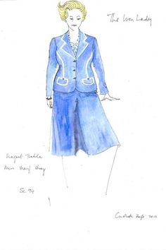 Meryl Streeps costume for 'The Iron Lady' by Consolata Boyle