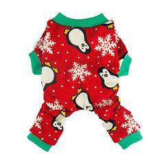 Fitwarm Cute Penguin Xmas Pet Clothes for Dog Pajamas Sof... https://www.amazon.com/dp/B015M0U31S/ref=cm_sw_r_pi_dp_x_XDahybWFMV397
