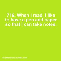 Bookfessions #716