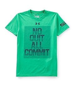 Under Armour 820 No Quit All Commit ShortSleeve Tee #Dillards
