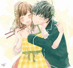 Couple Romance Anime Couples Fanart Fan Art