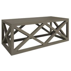 Lexington Coffee Table - Rectangular, Stain in Driftwood Priley Lane - multiple colors available + any Benjamin Moore color #colorfurniture