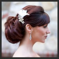 Classic Bridal Hair and Makeup by Hair Comes the Bride