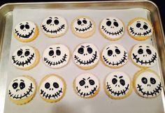 Nightmare Before Christmas Sugar Cookies