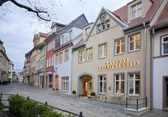 This boutique hotel offers contemporary rooms and a gourmet restaurant in the heart of scenic Naumburg, in the Saale-Unstrut area, Europe's most northern winegrowing area. High Middle Ages, Visit Germany, Medieval Town, New Builds, Best Hotels, Hotel Offers, Contemporary Design, Cathedral, Backdrops