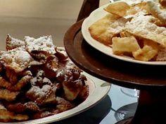 Receta Donato de Santis: Masas dulces fritas (Chiacchiere e guanti fritti)