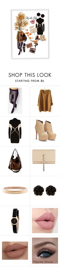 """""""Walk into Style"""" by maryann-bunt-deile ❤ liked on Polyvore featuring Balmain, Furla, Yves Saint Laurent, Chanel, Erica Lyons and Marc by Marc Jacobs"""