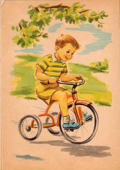 Old Children's Books, Vintage Children's Books, Vintage Posters, Vintage Art, Vintage Kids, Retro Images, Vintage Images, Children's Book Illustration, Book Illustrations
