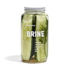 Be Amazed With These Five Recipes Using Dill Pickle Vodka Food Branding, Food Packaging Design, Packaging Design Inspiration, Brand Packaging, Organic Packaging, Juice Branding, Jar Design, Bottle Design, Label Design