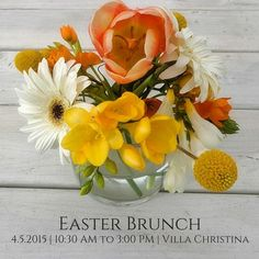 The Easter Bunny will be hopping into @villachristina for their annual Easter brunch. Will you be there? Call today for reservations! (678) 539-1234 ‪#‎Easter‬ ‪#‎Atlanta‬