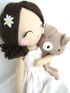 Mend Custom Rag Doll by MendbyRubyGrace on Etsy