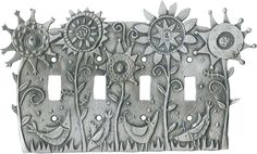 FLOWER POWER Switch Plates, Outlet Covers & Rocker Switchplates