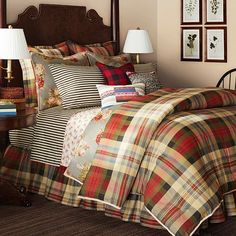 Chaps Hudson River Valley Comforter Collection Master