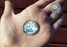 Mini glass magnets Mini Mágnes Hűtőmágnes Üveglencse Baby boy Baba