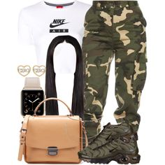 3|28|18 Sherlina Nym Inspired by miizz-starburst on Polyvore featuring polyvore, fashion, style, NIKE, Zara, Humble Chic and clothing