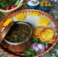 Join us for Ghormeh Sabzi, Iranian herbal stew!