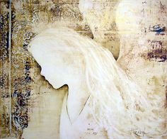 abstract angel paintings   ReneaL › Portfolio › EN903 Angel Painting
