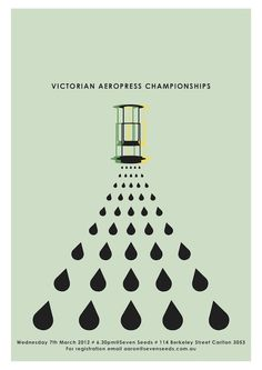 Our favourite Poster: Victorian AeroPress Championships